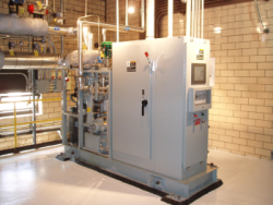 Con Edison Microsteam Turbine Installation