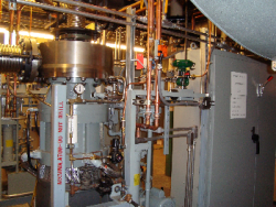 Princeton University 1 Microsteam Turbine Installation