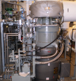 Princeton University 2 Microsteam Turbine Installation